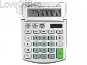 Calcolatrice solare da tavolo Q-Connect media 12 a cifre KF01605