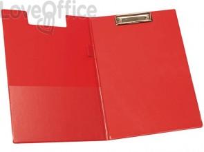 Cartella portablocco con molla Q-Connect A4 - Protocollo rosso KF01302
