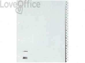Divisori alfabetici Q-Connect A-Z 24,5x29,7 cm grigio 24 pagine KF01843