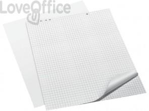 Blocchi per lavagne a fogli mobili Q-Connect 68x98 cm 20 ff a quadretti conf. da 5 pezzi - KF01980