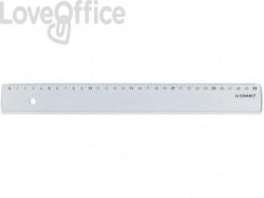 Righello Q-Connect trasparente 30 cm  KF00587