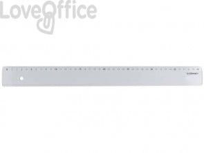 Righello Q-Connect trasparente 40 cm  KF00588