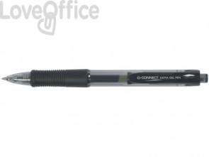 Penne a sfera inchiostro gel Q-Connect Sigma M nero (conf.12)