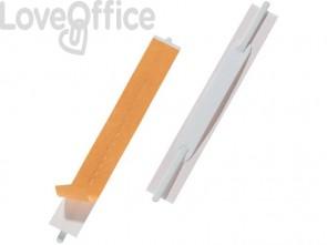 Pressini fermafogli DURABLE FLEXIFIX® CONFEZIONE RETAIL bianco 150x20mm - 691602 (conf. 10)