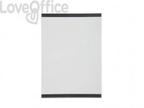 Tasca magnetica DURABLE plastica trasparente formato A4 busta da 2