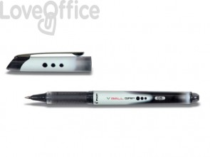 Roller a inchiostro liquido Pilot V BALL punta fine 0,5 mm nero F 11260