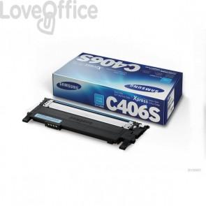 Originale Samsung CLT-C406S/ELS Toner ciano