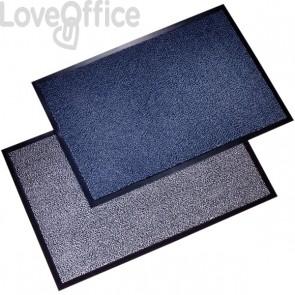 Tappeti antipolvere Floortex - bianco e nero - 90x150 cm - FC49150DCBWV