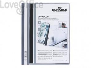 Cartellina ad aghi DURABLE DURAPLUS® A4 grigio 257910