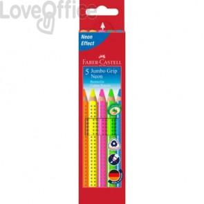 Evidenziatori Faber-Castell Jumbo Colour Grip 5 colori assortiti 110994