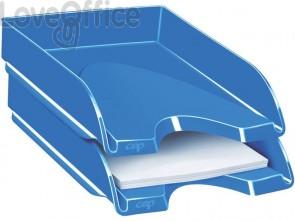 Vaschetta portacorrispondenza CepPro Gloss impilabile CEP in polistirene blu oceano - 1002000351