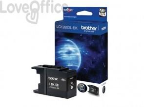 Cartuccia inkjet alta capacità 1280 Brother nero LC-1280XLBK