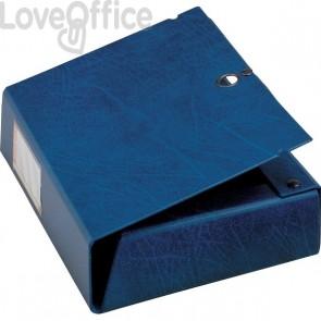 Cartelle portaprogetti Scatto Sei Rota - Dorso 8 - 25x35 cm - blu - 67900807