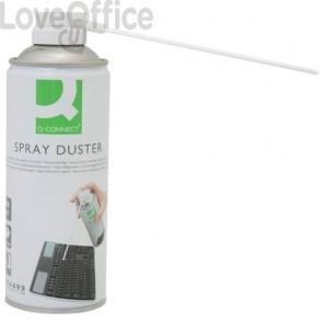 Polverizzatore ad aria compressa Q-Connect utilizzabile in verticale privo di HFC 400 ml - KF04499