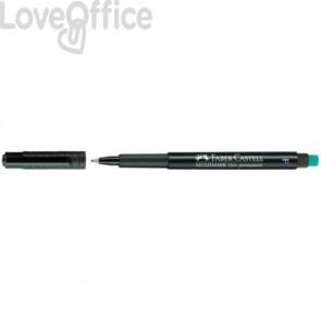 Marcatore permanente Faber-Castell Multimark nero F 0,6 mm 151399