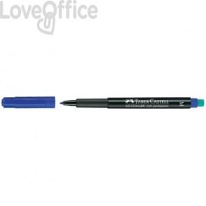 Marcatore Faber-Castell Multimark 1525 M 1 mm blu 152551