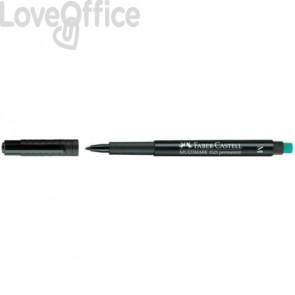 Marcatore Faber-Castell Multimark 1525 M 1 mm nero 152599