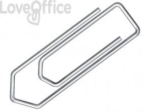 Fermagli Q-Connect filo d'acciaio nichelato 20 mm - KF01306 (conf.100)
