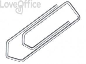 Fermagli Q-Connect filo d'acciaio nichelato 50 mm - KF01677 (conf.100)