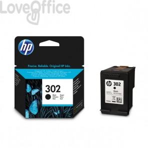 Cartuccia inkjet Originale HP 302 nero - 190 pagine - F6U66AE