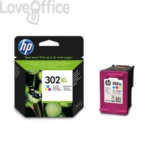 Cartucce inkjet Originale HP 302XL 3 colori - alta resa - 330 pagine - F6U67AE