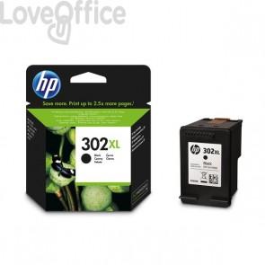 Cartuccia inkjet Originale HP 302XL nero - alta resa - 480 pagine - F6U68AE