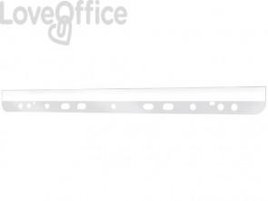 Strisce adesive a perforazione universale Q-Connect A4 trasparente - KF27049 (conf. 10 pezzi)
