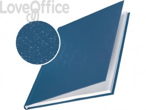 Copertina rigida max 246-280 fogli Leitz impressBIND in cartone con dorso da 28 mm A4 blu  conf. da 10 - 73970035