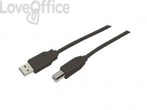 Cavo di collegamento Media Range USB 2.0 A/B nero MRCS102