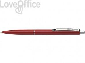 Penne a sfera a scatto Schneider K 15 ricaricabile tratto M rosso (conf.20)