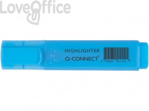 Evidenziatori blu Q-Connect 1,5-2 mm KF01114 (conf.10)
