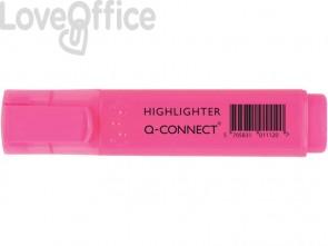 Evidenziatori rosa Q-Connect 1,5-2 mm KF01112 (conf.10)