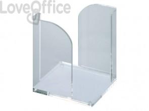 Dispenser MAUL portafoglietti acrilico trasparente 9x9 cm 1954005