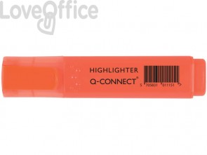 Evidenziatore Q-Connect 1,5-2 mm arancio  KF01115