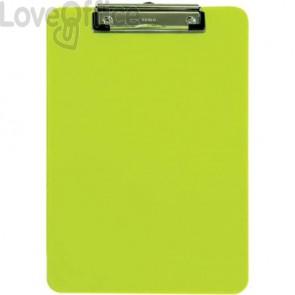 Portablocchi con clip MAUL giallo trasparente 2340611