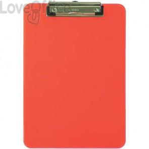 Portablocchi con clip MAUL arancione trasparente 2340641
