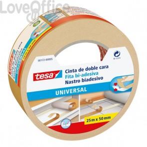 Nastro biadesivo universale Tesa - 50 mm x 25 m - 56172