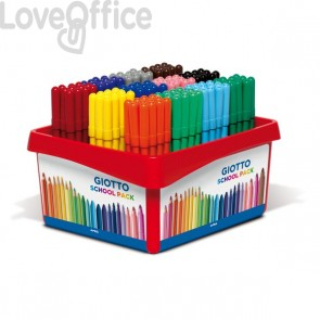 Pennarelli Turbo Giotto - Schoolpack Turbo Color - 0,5-2 mm - assortiti (conf.144)
