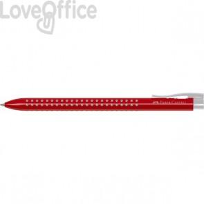 Penne a sfera Grip Faber Castell - rosso (conf.12)