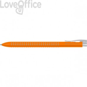 Penne a sfera con Grip Faber Castell - arancio (conf.12)