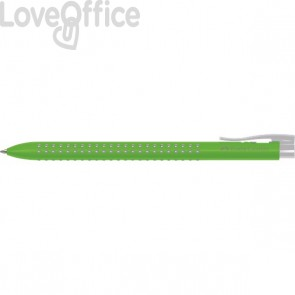 Penne a sfera Grip Faber Castell - verde (conf.12)