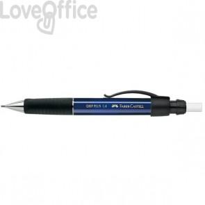 Matita Portamine - Portamine Faber Castell - Grip Plus Metallic - blu - 1,4 mm