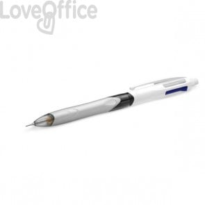 Penna a sfera 3 colori e portamine Bic - penna a scatto - rosso, blu, nero