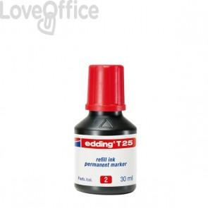 Inchiostro permanente per marcatori edding Edding - rosso - 4-T25002