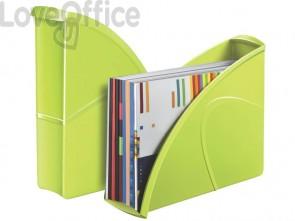 Portariviste CepPro Gloss CEP in polistirolo utilizzabile in formato vert. e orizz. verde anice - 1006740301