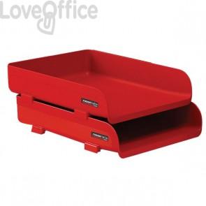 "Vaschetta portacorrispondenza ""Rosso Italia Collection"" Arda - rosso - 25,4x33,5x7 cm - 85510RIR"