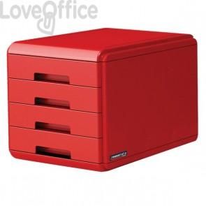 """Cassettiera """"Rosso Italia Collection"""" Arda - rosso - 29,5x38,5x28,2 cm - 18P4PRIR"""