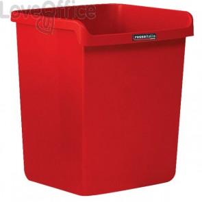 """Cestino """"Rosso Italia Collection"""" Arda -  rosso - 28,7x25,3x32,3 cm - 8116RIR"""