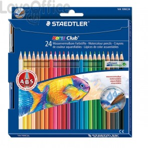 Matite colorate acquerellabili Noris colors Staedtler (conf.24)
