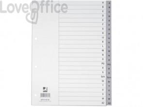 Divisori alfabetici Q-Connect A-Z 22,5x29,7 cm grigio 24 pagine KF01818